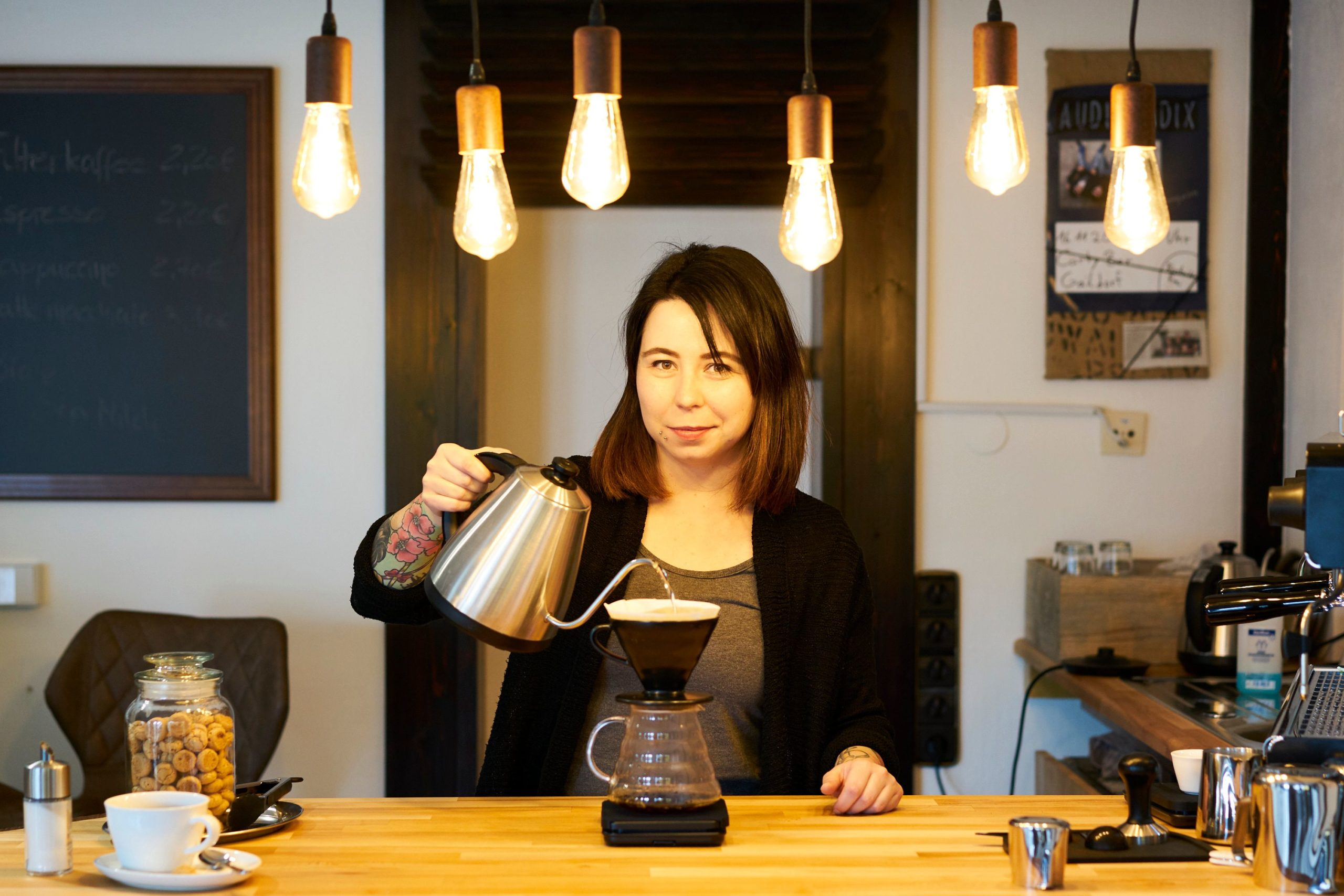 Rebecca Schaile, Röstmeisterin, Kaffee