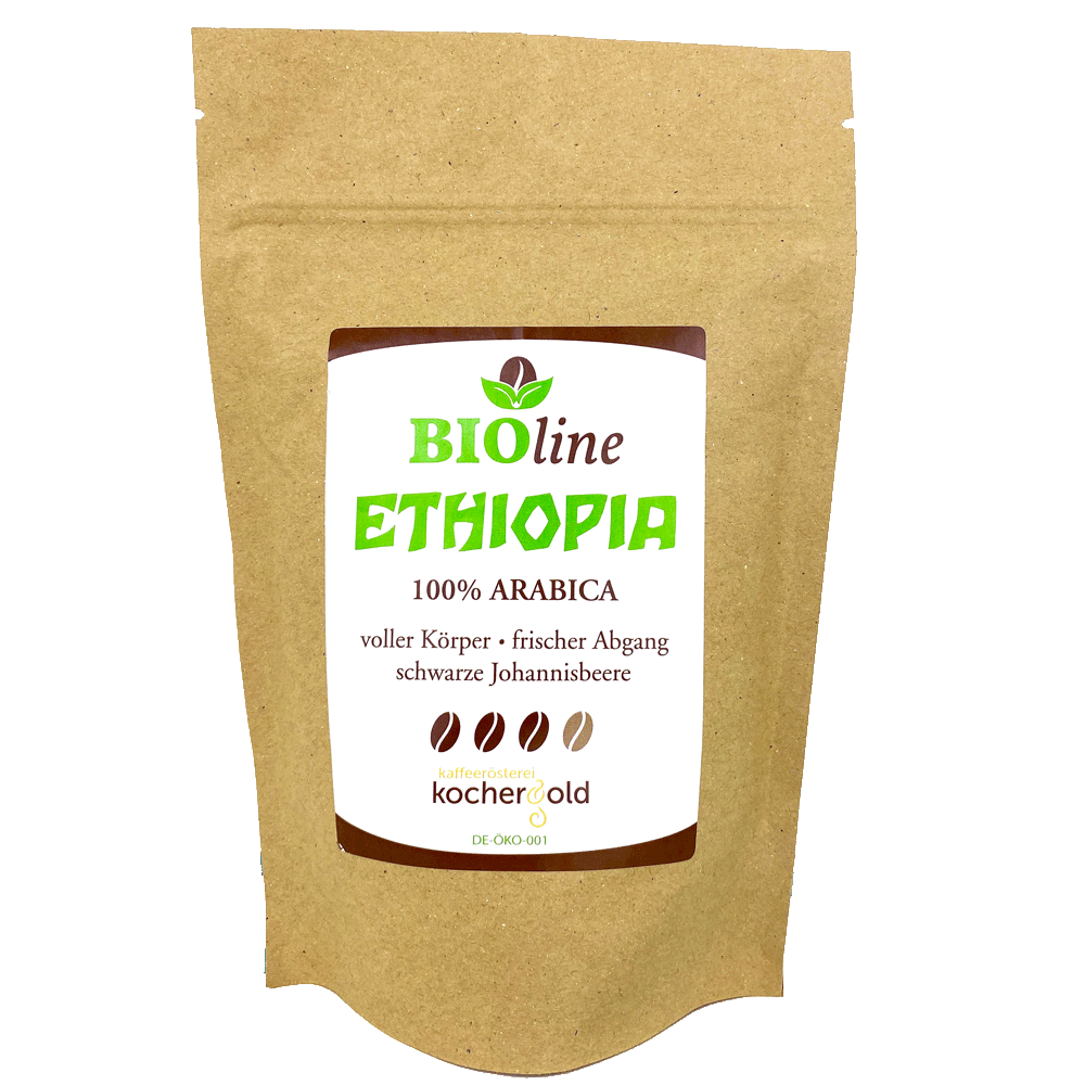 Bio Kaffee aus Äthiopien