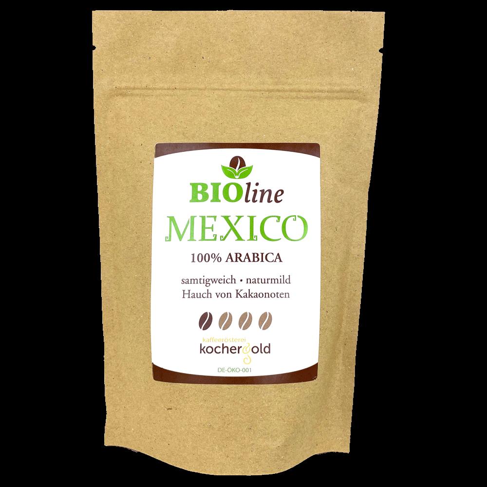 Bio Kaffee aus Mexiko