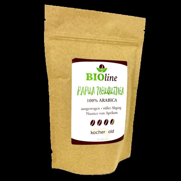 Bio Kaffee aus Papua Neuguinea