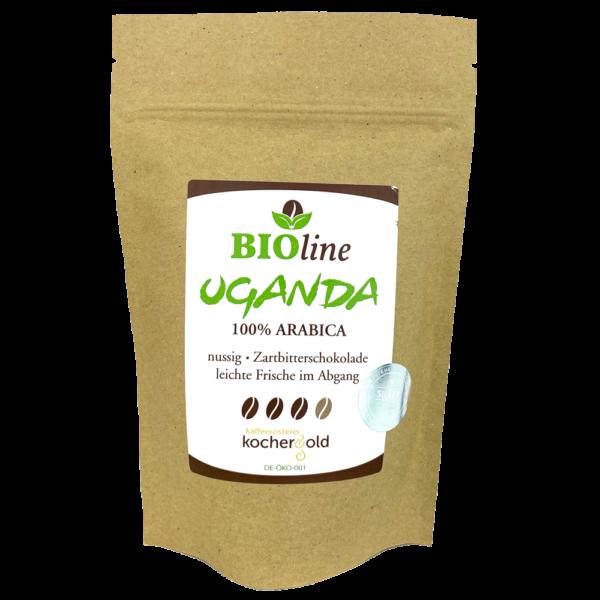 Bio Kaffee aus Uganda