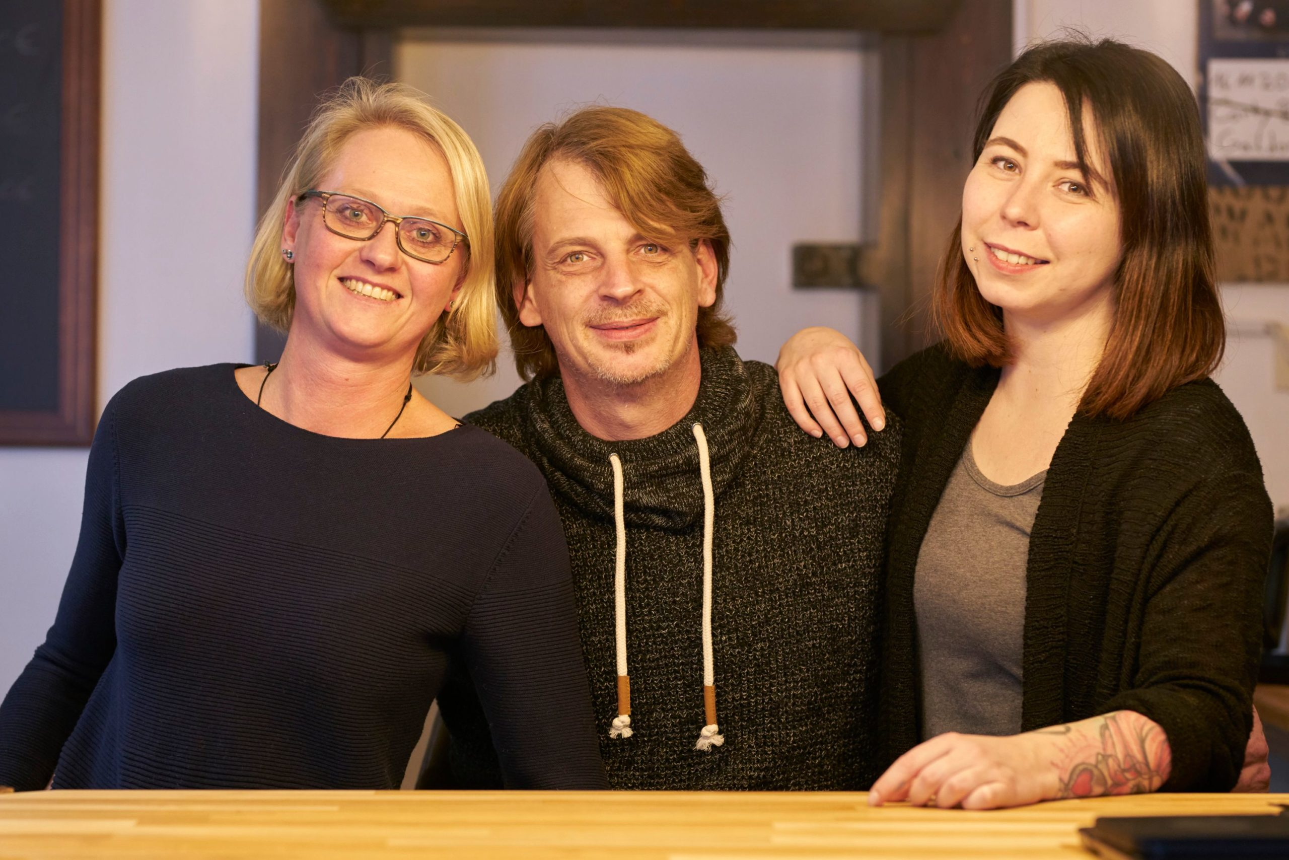 Team kochergold, Elke Zaklikowski, Markus Zaklikowski, Rebecca Schaile